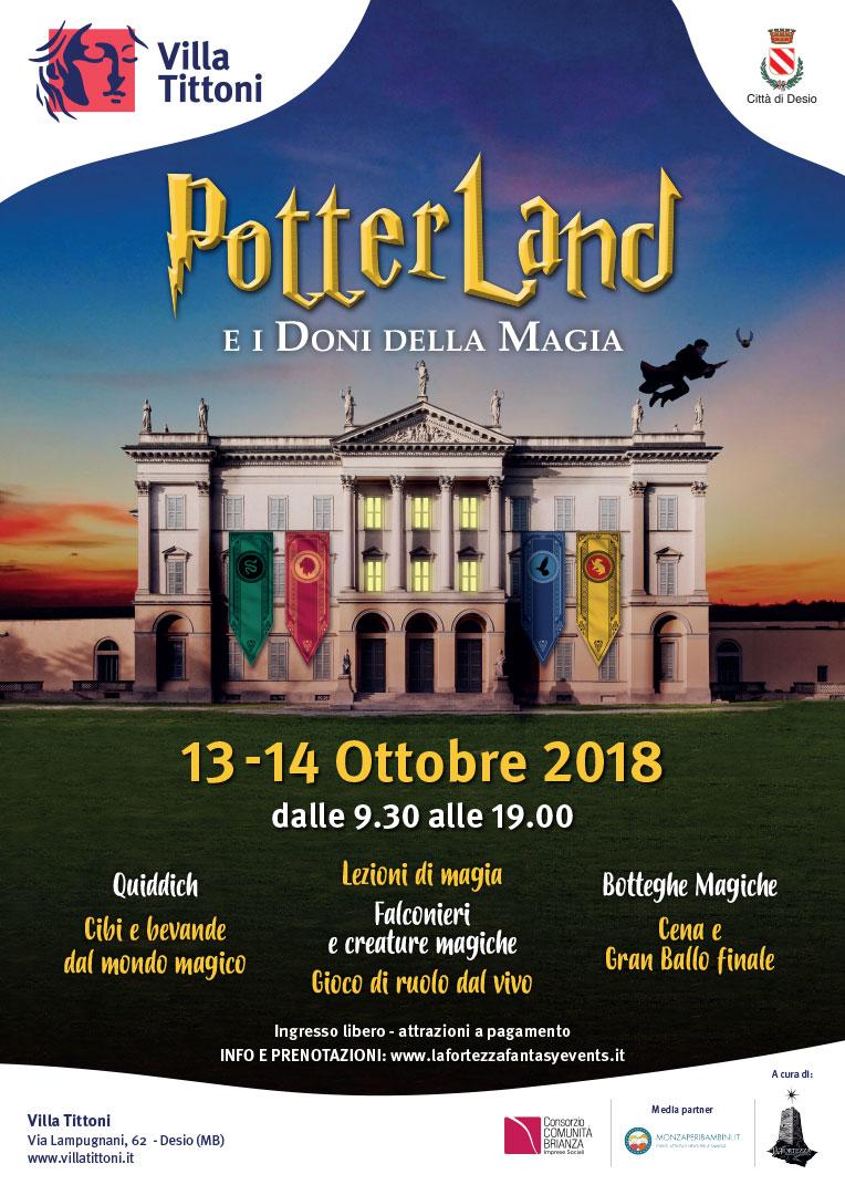 Potter Land e i doni della magia