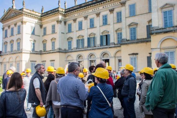 Pacchetto visita guidata Villa + visita guidata ai sotterranei
