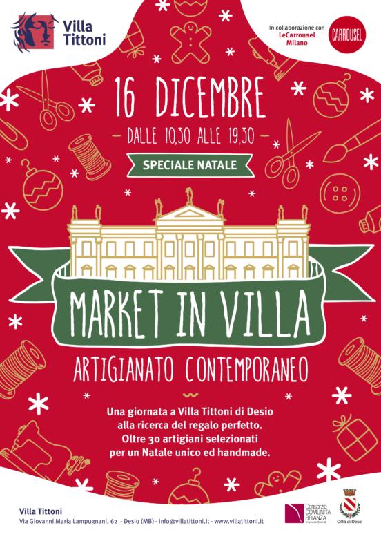 Speciale Natale.Market In Villa Speciale Natale Villa Tittoni Desio
