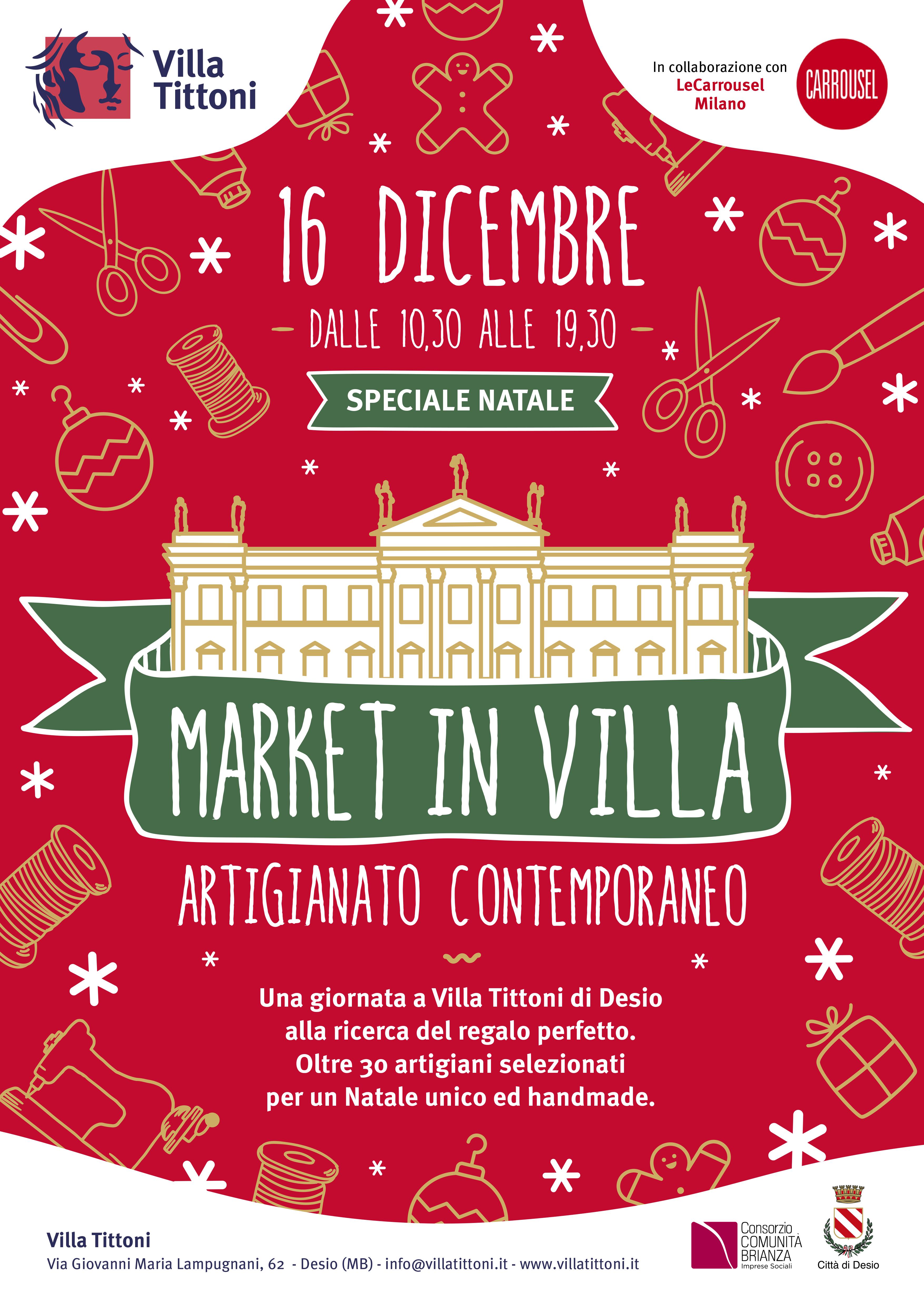 Market in Villa - Speciale Natale