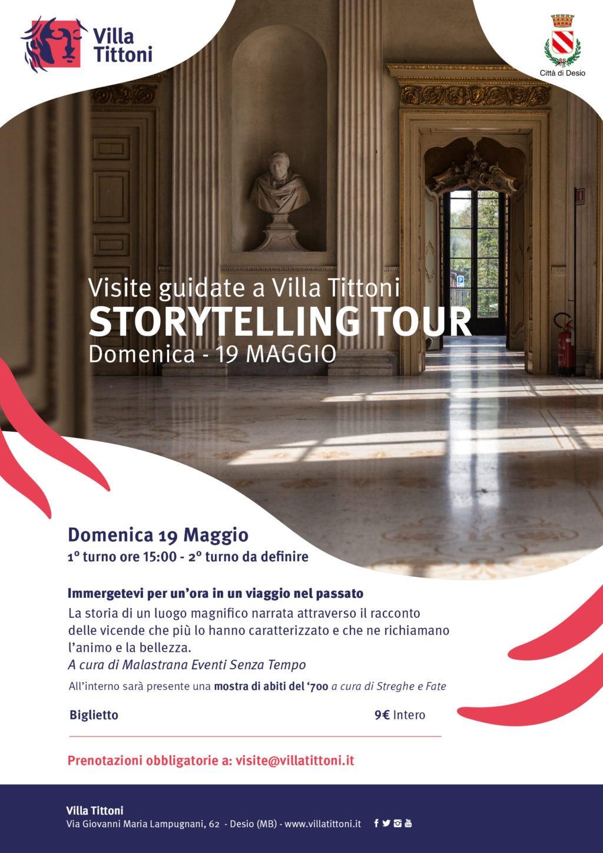 STORY TELLING TOUR a Villa Tittoni