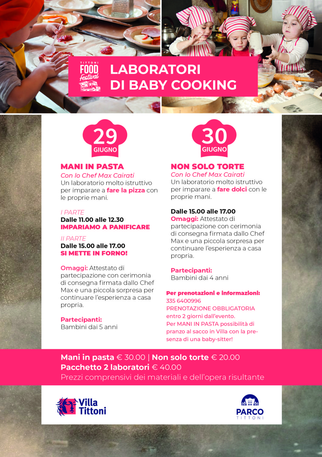 LABORATORI DI BABY COOKING
