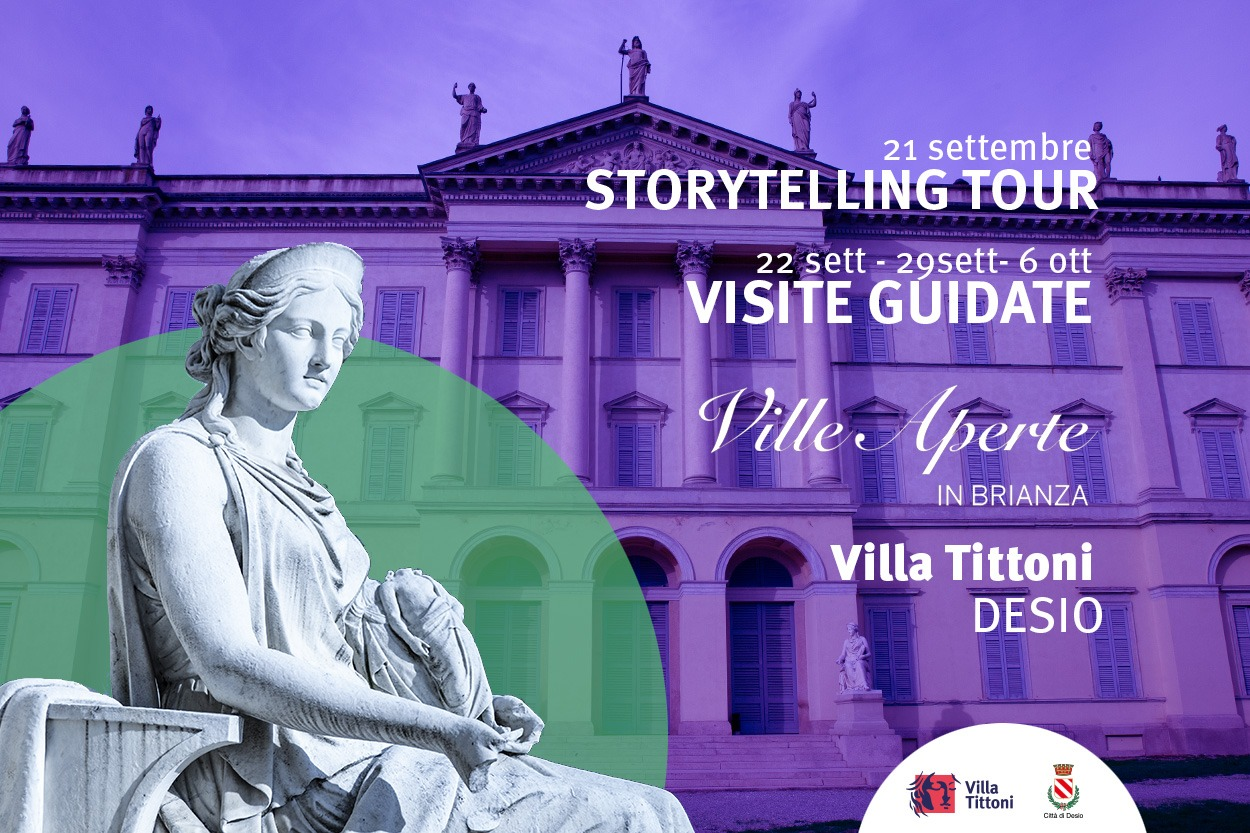 SAVE THE DATE: a settembre Story Telling Tour e Visite Guidate